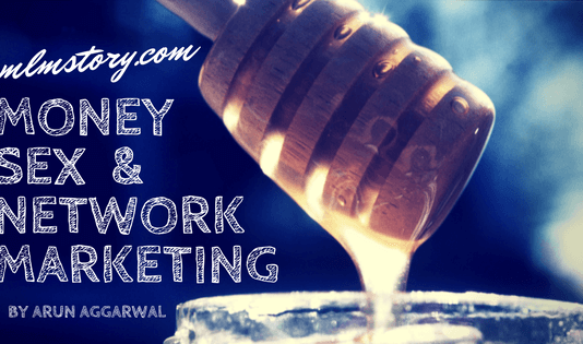 money sex and network marketing