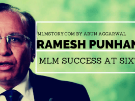 ramesh punhani mlm success story