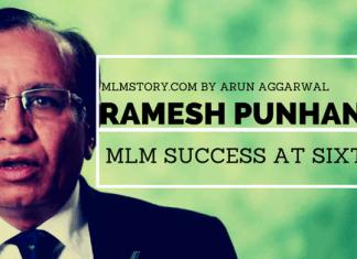ramesh punhani mlm success story