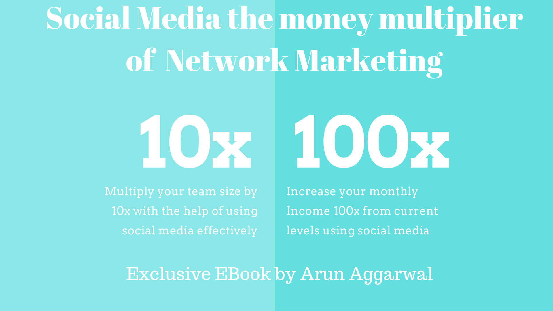 Social media the money multiplier of network marketing