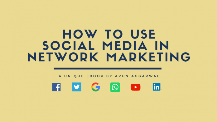 how to use social media in network marketing