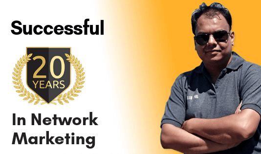 successful 20 years in network marketing